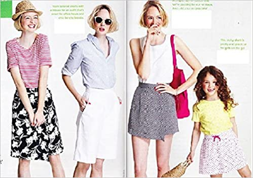 Prima Sewing Pattern June 2015, Shorts & Skorts (tops & bag not ...