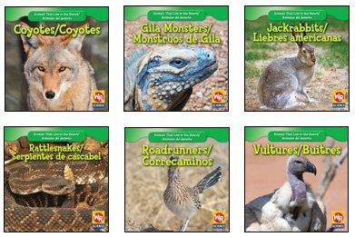 Animals That Live in the Desert/Animales del Desierto Set por JoAnn Early Macken