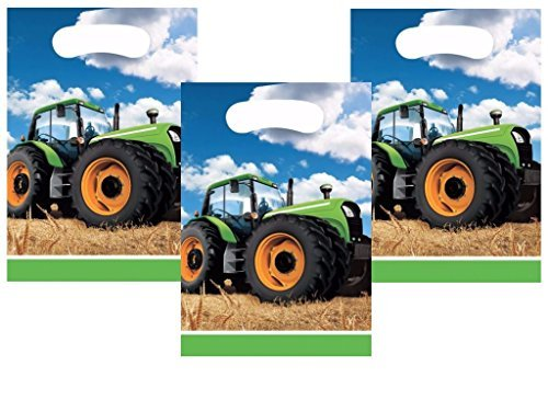 Tractor Time John Deere Favor Treat Bags 24