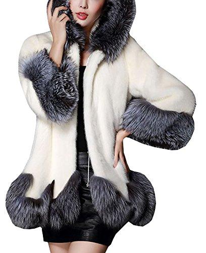 Baifern-Womens-Faux-Fur-Hooded-Outerwear-Coats-Plus-Size