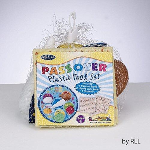 Rite Lite Toy Passover Plastic Seder Food Set