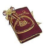 Select Quinceanera Photo Album Guest Book Kneeling Tiara Pillows Bible Q3172 (English Bible)