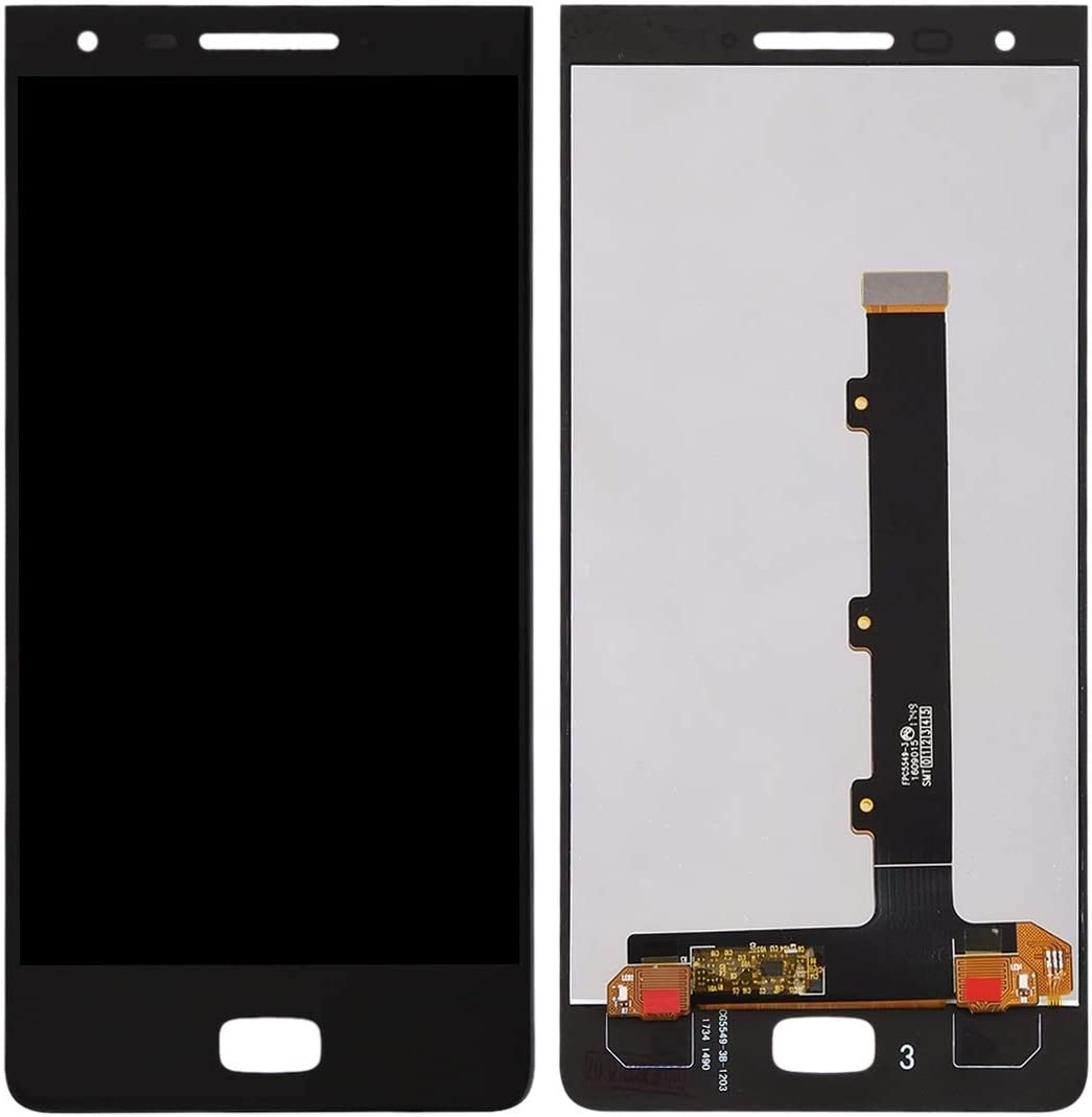 Black Color : Black MTE AYSMG LCD Screen and Digitizer Full Assembly for BlackBerry Motion