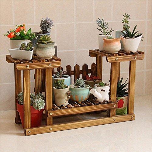 ... WYDM En bois massif balcon étagère à fleurs salon à débarqueHommes t  étagère à salon fleurs ... 414231904ee