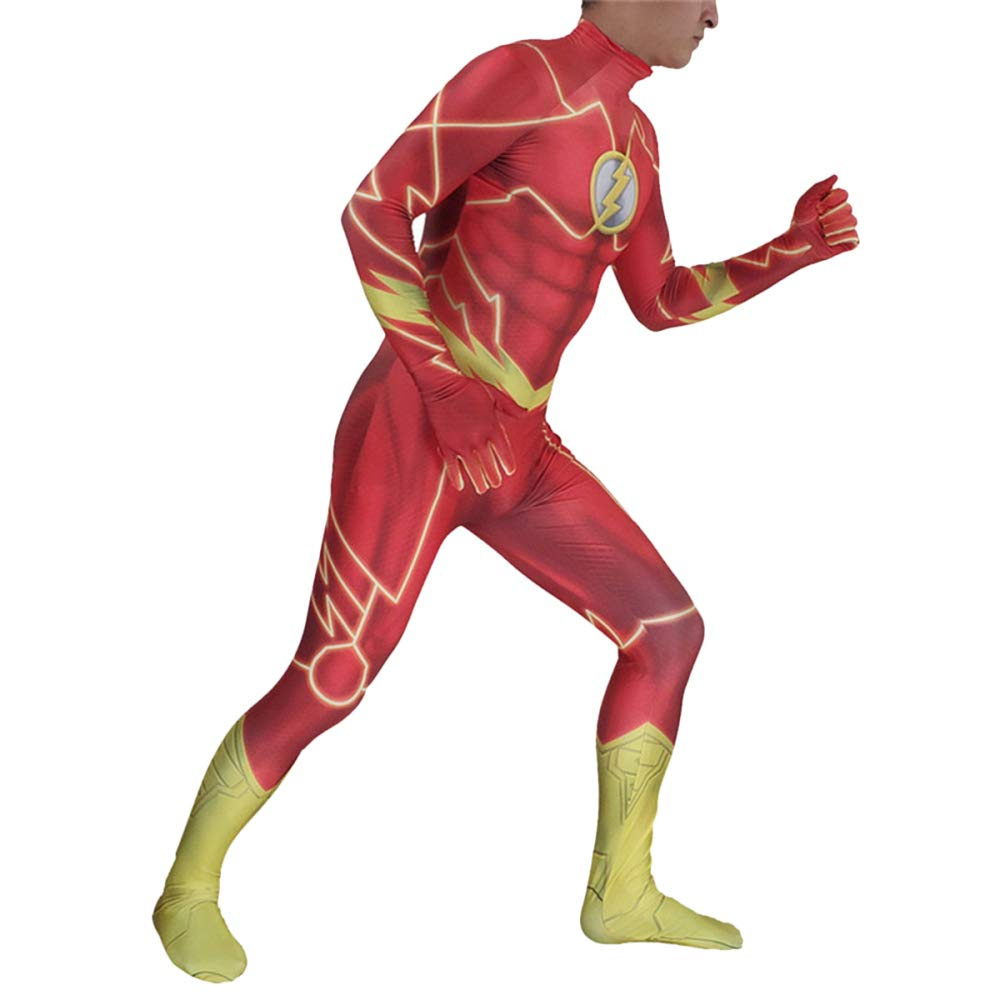 QQWE The Flash Cosplay Disfraz Disfraz Disfraz Halloween ...