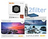 NiSi V5 100mm Starter Kit 1 Includes - V5 Holder, Glass 4x6 Mutli-coated 0.9 Soft Edge Grad ND and Glass 4x4 Multicoated IR ND1000 10-Stop (3.0) Filter with 2filter cleaning kit!