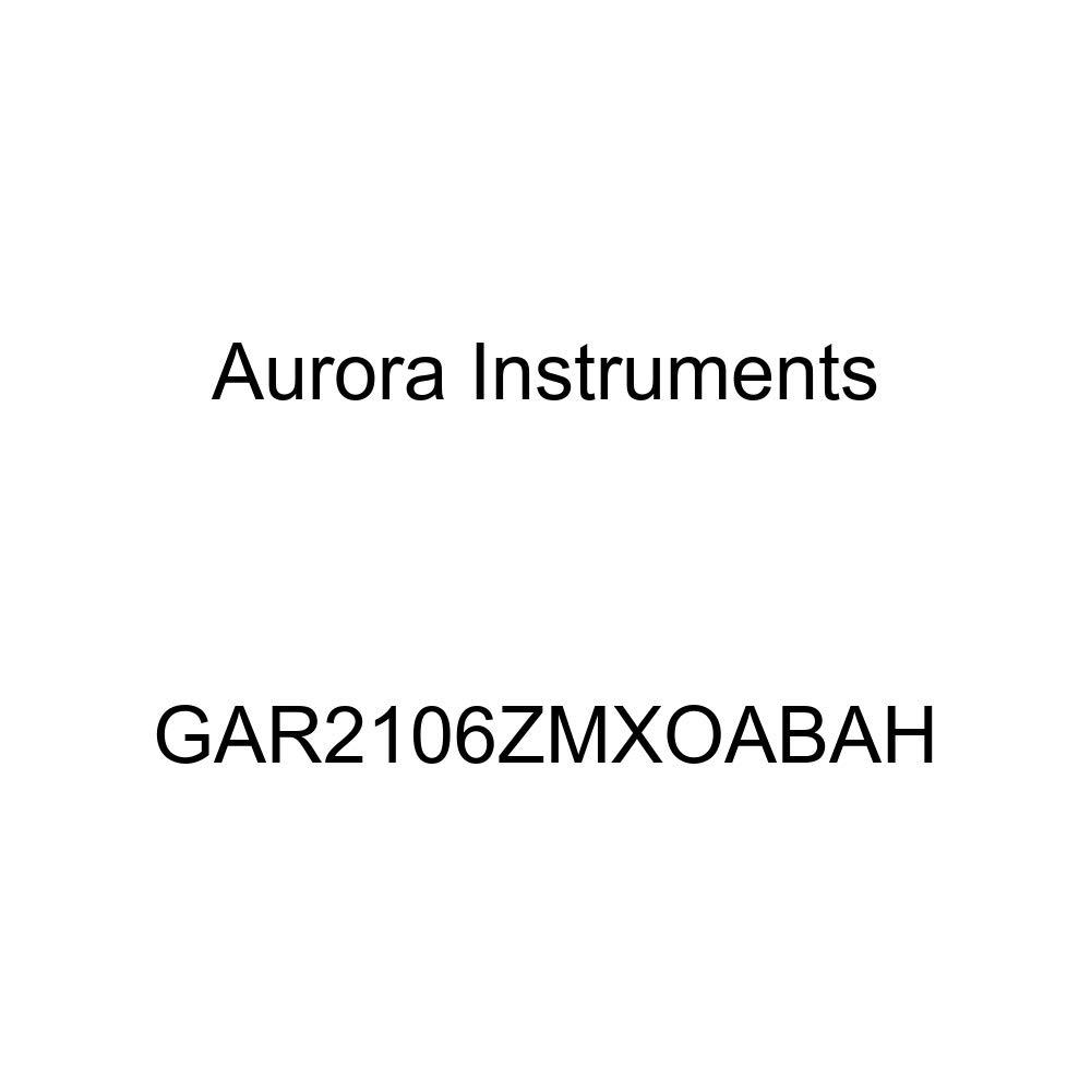 GAR2106ZMXOABAH Muscle Black Clock Gauge Aurora Instruments