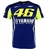 (US) Valentino Rossi VR46 Moto GP M1 Yamaha Factory Racing Team T-shirt Official 2017