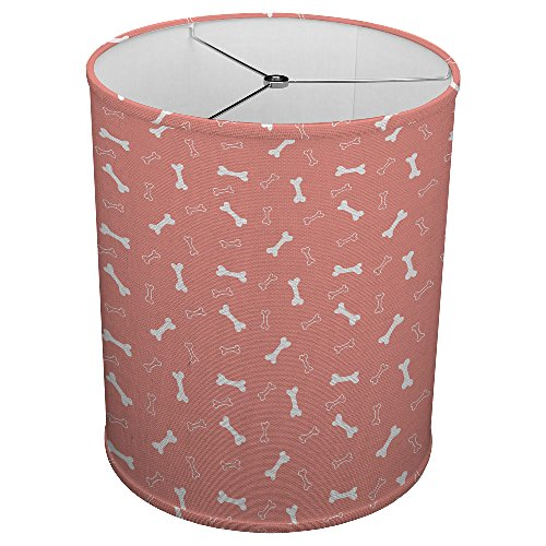 Bone Linen Shade (Hardback Linen Drum Cylinder Lamp Shade 8