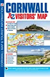 img - for Cornwall Visitors Map (A-Z Visitors Map) book / textbook / text book