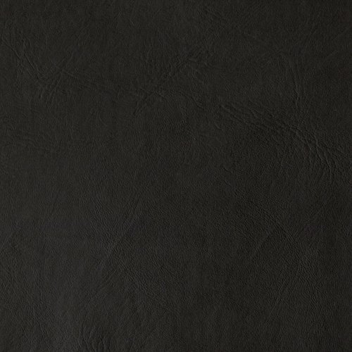 Flannel-Backed Faux Leather Majik Black Fabric By The (Black Faux Leather)