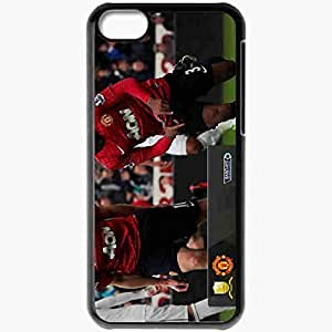 XiFu*MeiPersonalized iphone 4/4s Cell phone Case/Cover Skin Pinal score swansea vs manchester united BlackXiFu*Mei