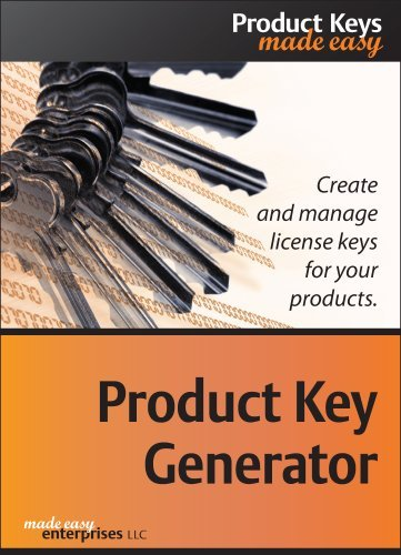 Product Key Generator 1.0 for Windows [Download] by Made Easy Enterprises LLC