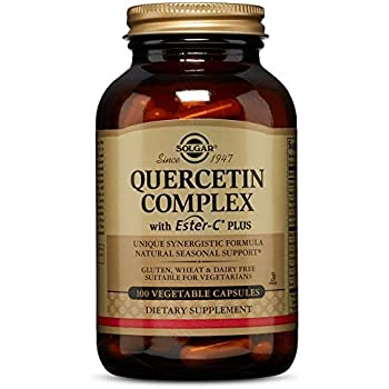 Solgar – Quercetin Complex with Ester-C Plus, 100 Vegetable Capsules
