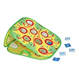 Melissa & Doug Verdie Chameleon Beanbag Toss, Active Play & Outdoor, Double Sided, Two Challenging Games, 8 Pieces, 62.738 cm H x 50.038 cm W x 1.016 cm L