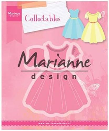 Rosa Metallo per Taglio e Goffratura di Disegni Complessi per Progetti Creativi Estate Indiana Marianne Design Collectables 8,3 x 9,4 cm Vestito