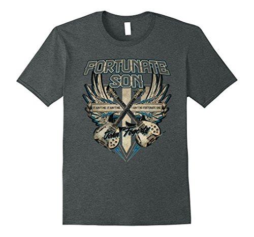 Mens John Fogerty - Fortunate Son T-Shirt XL Dark Heather