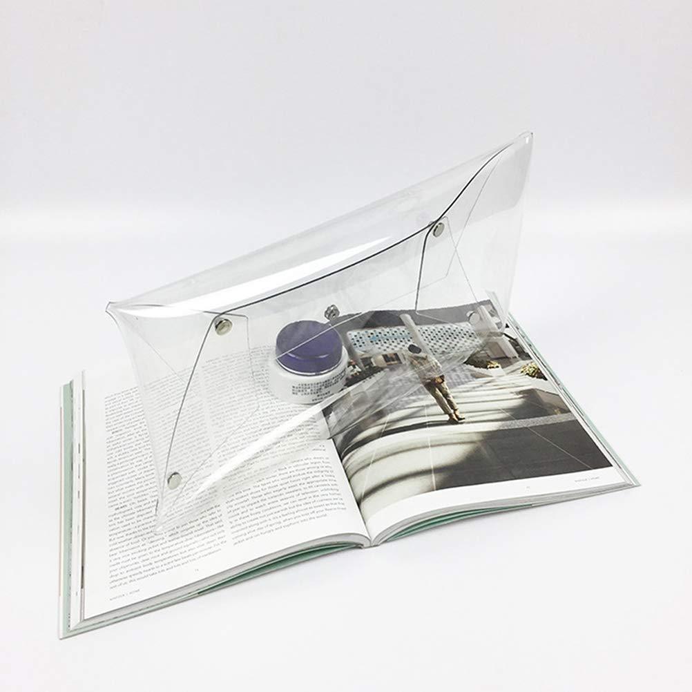 TENDYCOCO Borsa da sera trasparente trasparente elegante pochette per la festa nuziale
