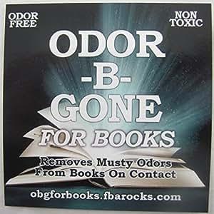 Odor-B-Gone for Books Eliminates Odors Smell Musty Cigarette w/Mister 32oz Bottle