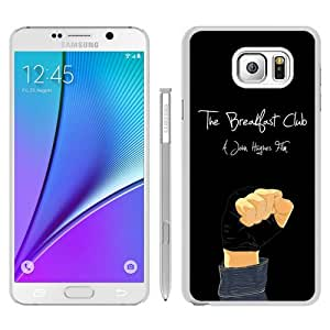 Newest Samsung Galaxy Note 5 Case ,Popular And Beautiful Designed Case With The Breakfast Club white Samsung Galaxy Note 5 Screen Cover High Quality Phone Case