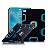 #2: iPad Pro Case (9.7 Inch), TabPow Armor Hybrid Series - [Shockproof][Drop Protection][Heavy Duty] Rugged Three-Layer Defender Case Cover With Stand For iPad Pro 9.7 inch, Blue