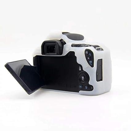 NiYi CIVIQ - Funda Blanda de Silicona para cámara Canon EOS 200D ...