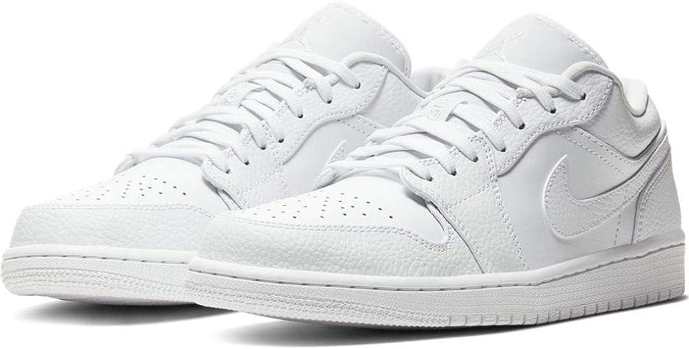 Nike Air Jordan 1 Low, Chaussure de Basketball Homme: Amazon