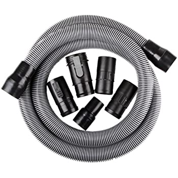 WORKSHOP Wet Dry Vac WS17821A 1-7//8-Inch x 2 Ft to 7 Ft Locking Expandable Hose