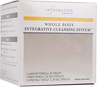 Integrative Therapeutics - Whole Body Integrative Cleansing System - 3 Product Kit for 2 Week Internal Cleanse - 1 Kit