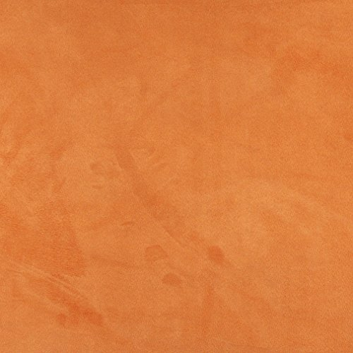 C056 Light Orange Solid Microsuede Microfiber Suede Ultra Durable Upholstery Grade Fabric By The Yard (Ultra Suede Fabric Upholstery compare prices)