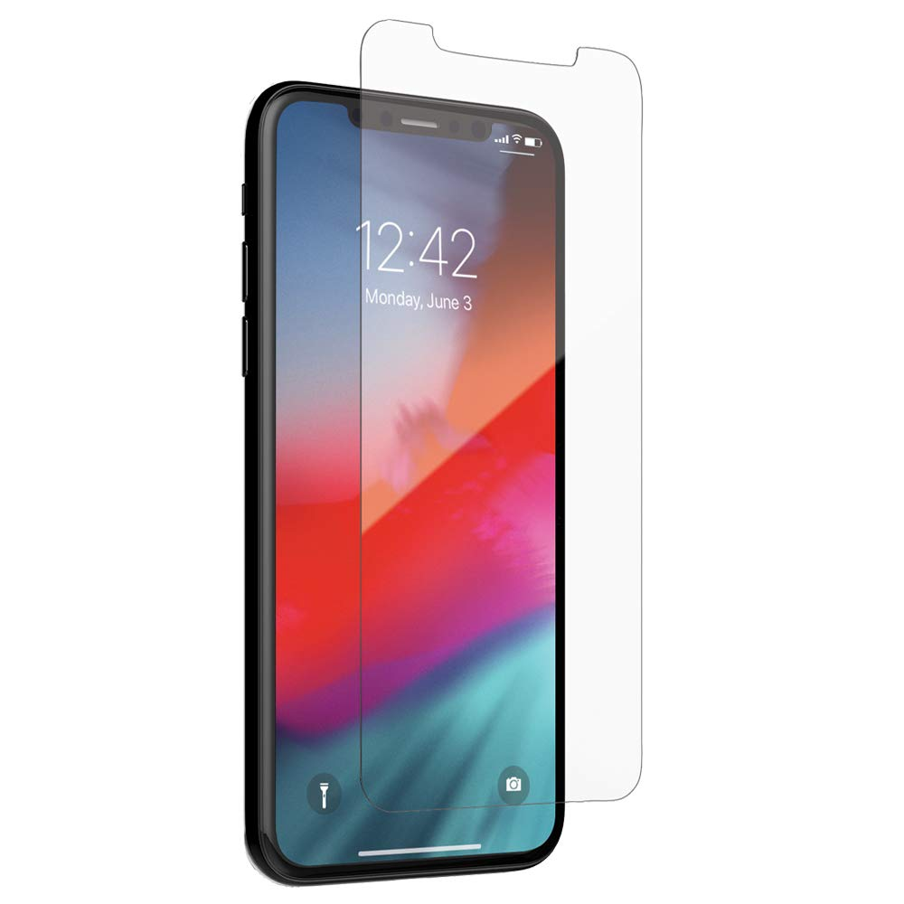 Case-Mate - iPhone X/XS - ULTRA GLASS - Glass Screen Protector - 5X Protection - Apple iPhone - Ultra Clear