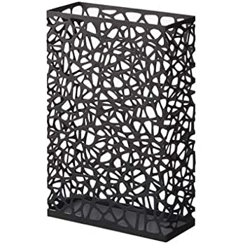 Amazon.com: Nest - Black Metal Rectangular Umbrella Stand, Modern ...