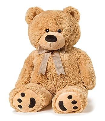 """Big Teddy Bear 28"""" - Tan"""