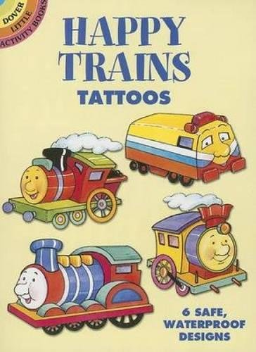 Download Happy Trains Tattoos (Dover Tattoos) PDF