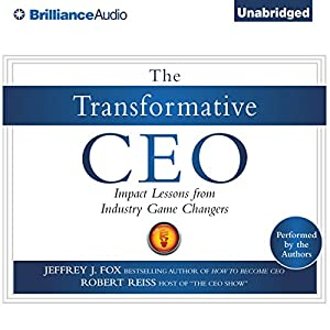 The Transformative CEO Audiobook