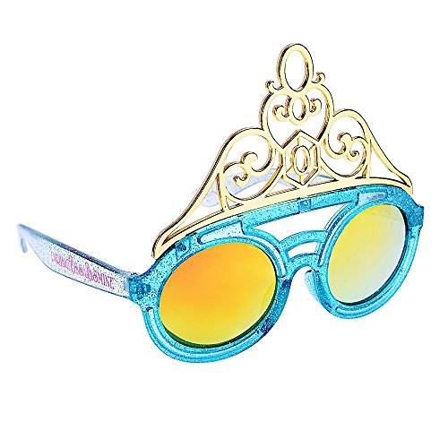 Sunstaches Disney's Aladin Princess Jasmine Character Sunglasses, Instant Costume, Party Favors, (Jasmine And Aladin Costume)