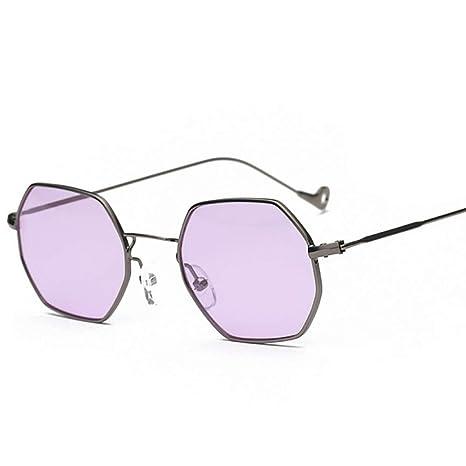 Yangjing-hl Gafas de Sol CatEye Nuevas Mujeres Marco pequeño ...