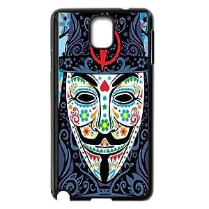 High Quality -ChenDong PHONE CASE- For Samsung Galaxy NOTE4 Case Cover -V For Vendetta Design-UNIQUE-DESIGH 19