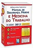 capa de Manual de Segurança, Higiene e Medicina do Trabalho