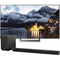 Sony XBR-75X900E 75 4K Ultra HD LED Smart TV with Wi-Fi and Bluetooth with HT-ST5000 7.1.2ch 800W Dolby Atmos Sound Bar