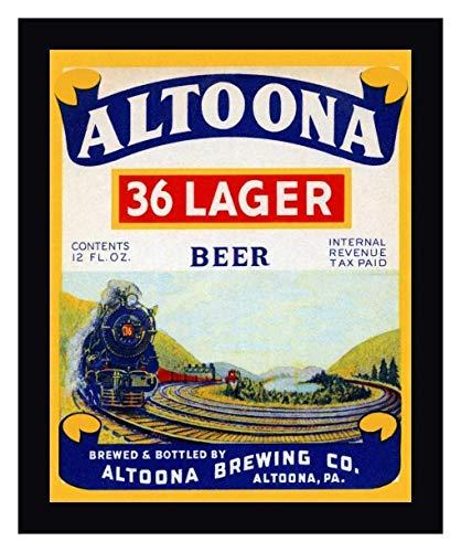 Altoona 36 Lager Beer by Vintage Booze Labels - 22