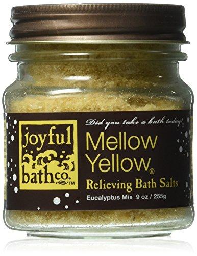Joyful Bath Mellow Yellow Relieving Bath Salts, Eucalyptus,