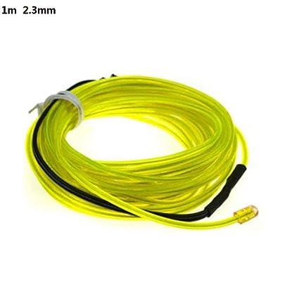 Amazon.com: HJDQ Luz electroluminiscente de neón brillante ...