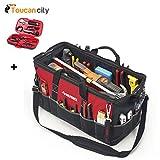 Husky 24'' Tool Bag 82167N17 and Toucan City Tool kit (9-Piece)