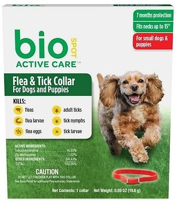 Bio Spot Active Care Flea & Tick Collar
