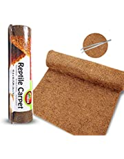 """MCLANZOO Reptile Carpet Mat, Coconut Fiber Liner,Snake Bedding,Lizard Cage Mat/Substrate for Snakes, Chameleons, Geckos ands Kitchen Use (36""""x18"""")"""