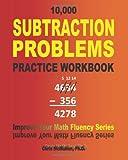 10,000 Subtraction Problems Practice Workbook, Chris McMullen, 1448611784