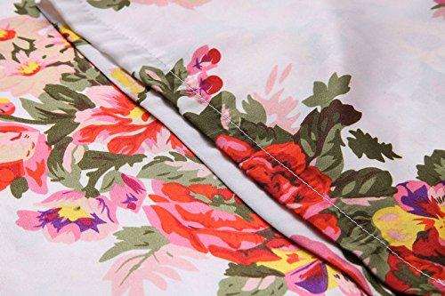 Fete Fabulous Damen Morgenmantel rosa Blush/Light Pink Einheitsgröße Onyx Black 58PN0