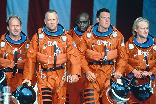 Armageddon Bruce Willis & the Guys 18x24 Poster (Bruce Willis Poster)