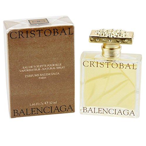 Balenciaga Cristobal Women Pour Elle Eau De Toilette Spray 50ml
